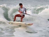 Nicole Pacelli levoua medalha de ouro no ISA World Stand Up Paddle