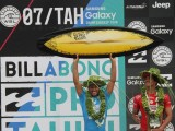 Jeremy Flores campeão do Billabong Pro Tahiti